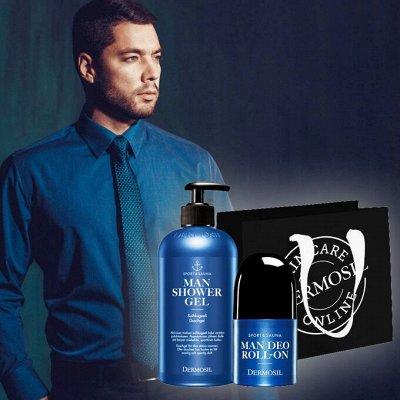 DERMOSIL - Шикарный Финский уход за волосами! — Dermosil Man-уход за кожей лица и тела для мужчин! — Для лица