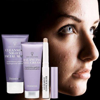 ⚡DERMOSIL® - ÖÖÖчень Финская косметика!⚡ — Dermosil Fresh- уход за молодой/проблемной кожей. — Уход проблемной кожи