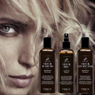 DERMOSIL Skin Comfort - чудо уход за зрелой кожей! Новинки! — Silver - Уход за светлыми волосами. — Для волос