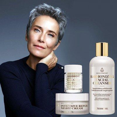 ⚡DERMOSIL - Всеми любимые дезодоранты!⚡ — Dermosil Skin Comfort - для ухода за зрелой кожей. — Для лица