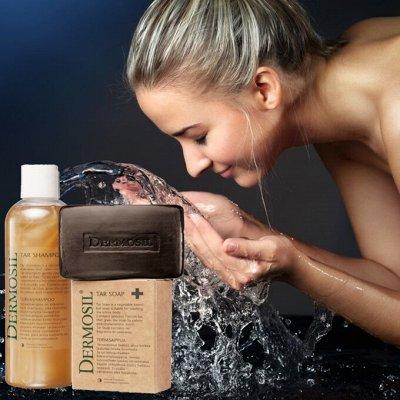 DERMOSIL - Шикарный Финский уход за волосами! — Дегтярное мыло - природный антисептик! — Уход и увлажнение