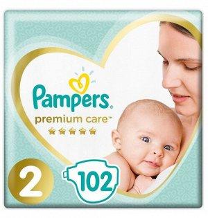 PAMPERS Подгузники Premium Care Mini (4-8 кг) Упаковка 102