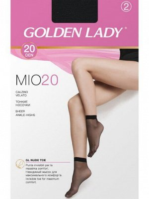 Носки женские полиамид, Golden Lady, носки Mio 20