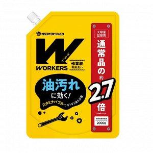 Жидкое средство для стирки сильнозагрязненной экипировки для спорта и одежды специалистов 2000 гр