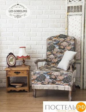 Накидка на кресло гобелен 'Paysage Du Parc' 70х150 см