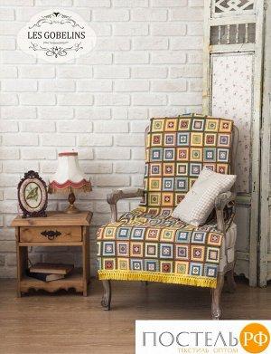 Накидка на кресло гобелен 'Labyrinthe' 100х120 см