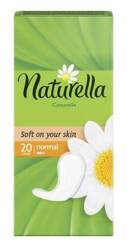 NATURELLA Женские гигиенические прокладки на каждый день Camomile Normal Single 20шт ПрепКороб