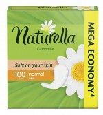 NATURELLA Женские гигиенические прокладки на каждый день Camomile Normal 100шт ПрепакКороб