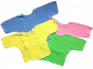 Распашонка Количество в упаковке: 1; Артикул: ТМ-013КО; Ткань: Кулирка; Состав: 100% Хлопок; Цвет: РазноцветныйСкачать таблицу размеров                                                Распашонка из одн