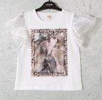 Блуза дев. Белый
