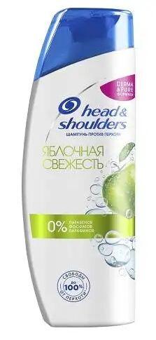 HEAD & SHOULDERS Шампунь против перхоти Яблочная свежесть 400мл