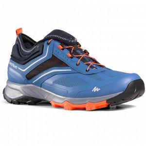 Мужские ботинки для походов в быстром темпе FH500. QUECHUA