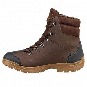 Ботинки мужские утепленные для охоты Land 100 Warm SOLOGNAC