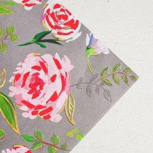 Бумага упаковочная Flower Paradise