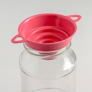 Воронка для банок 4 диаметра, верхний d=10 см, цвет МИКС