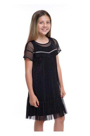#79883 Платье чёрный