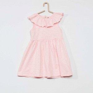 Комплект платье + трусики - розовый