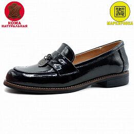 Туфли натуральный лак