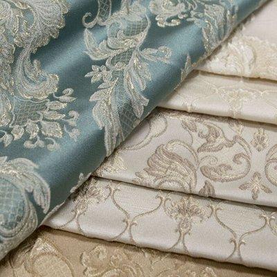 Обивка №29💎 Мебельные ткани и Кожзам (+комплектующие) — Ткань мебельная CALEDONIA (Жаккард) — Шторы