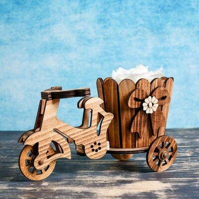 Цветущее ПриУсадебное Хозяйство !! Новые фигуры в Сад!  — Деревянные кашпо — Кашпо и горшки