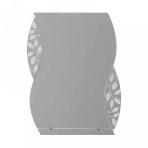 Зеркало «Агата», настенное, с полочкой, 53?68 cм