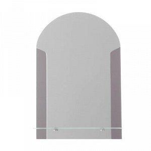 Зеркало «Лайм», настенное, с полочкой, 39?58 см