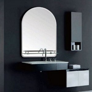 "Зеркало в ванную комнату 600 х 450 мм ""Ассоona A628"", 1 полка"