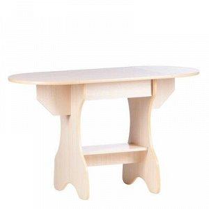 Стол обеденный Эко, 620/1235х600х750, Дуб молочный