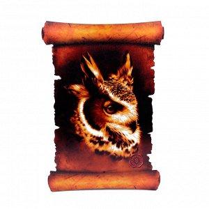 Картина объемная Сова 42,5 х 29,5см ХДФ