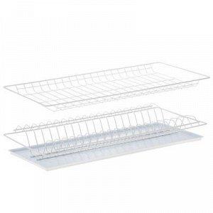Комплект посудосушителей для шкафа 60 см с поддоном 565х256 (белый)