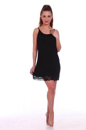 Сорочка женская, черный