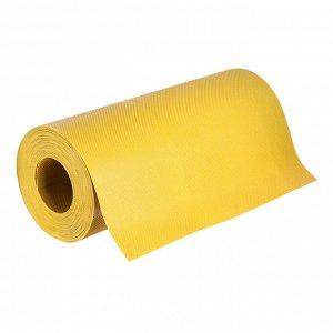 Лента бордюрная, 0.3 ? 10 м, толщина 1.2 мм, пластиковая, жёлтая, Greengo