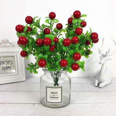 🌹Искусственные цветы для декора!🌸Родительский день🥀 — Ветки диких ягод  — Искусственные растения