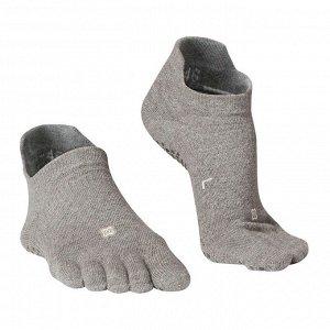 Носки для йоги 5 пальцев нескользящие