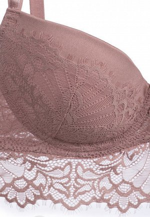 Бюстгальтер пуш-ап Mikaela, цвет пудрово-розовый