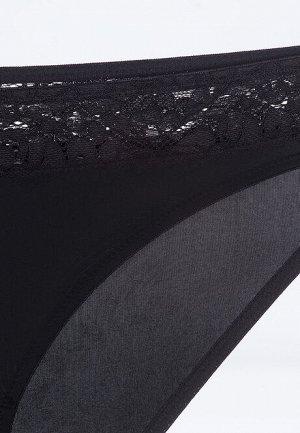 Трусы-слипы Gintare чёрные