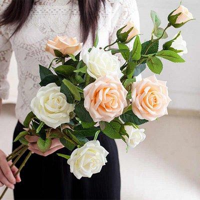 🌹Искусственные цветы для декора!🌸Родительский день🥀 — Выбор за вами! Цветы от 44 рублей! — Искусственные растения