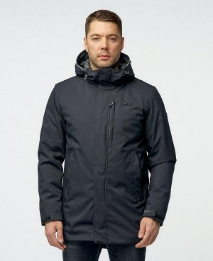 . Темно-синий; Зеленый; Черный;    Куртка POO PG21021 Стильная мужская куртка, изготовлена из качественной ветрозащитной ткани с водоотталкивающим покрытием. Нагрудный карман на молнии - удобный для