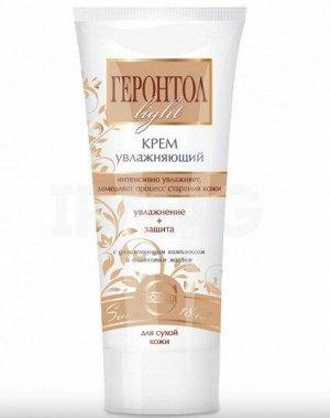 """Крем Крем """"Геронтол light"""" увлажняющий в лам.тубе 35х110. Крем увлажняющий для лица предназначен для ухода за увядающей кожей и уменьшения признаков старения, рекомендован для сухой кожи. Активные инг"""
