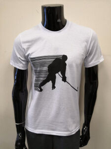 П-9 белый футболка мужская с принтом
