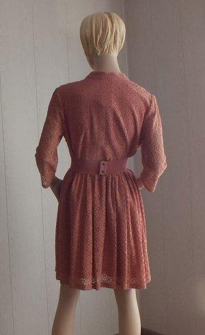 Платье Цвет св.коричневый, ОГ 96см, длина 90см