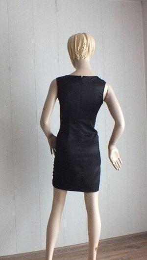 Платье Цвет черный ОГ 84см, длина 85см