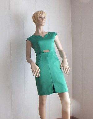 Платье Цвет зеленый ОГ 80см, длина 85см