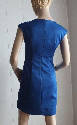 Платье Цвет синий ОГ 86см, длина 86см