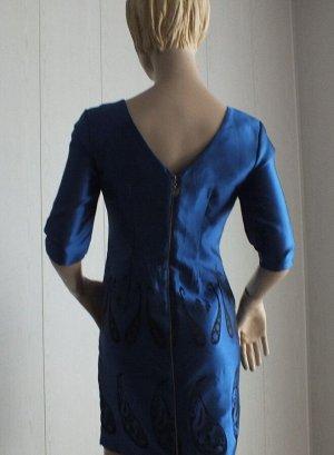 Платье Цвет синий 44: ОГ 88см,  длина 82см, 50 ОГ 96см,  длина 83см