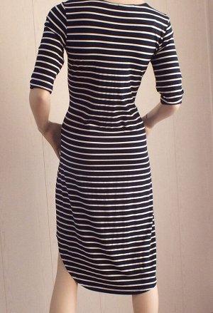 Платье Стрейч, ОГ 88см ; длина по спине 103см