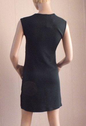 Платье Цвет зелёный Стрейч ОГ 80см, длина 85см
