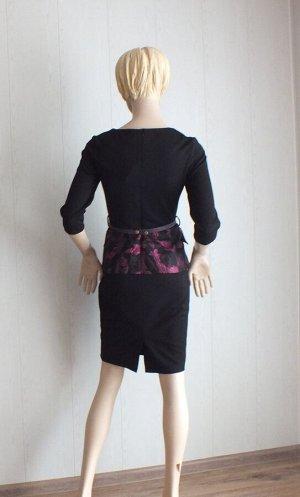Платье ОГ 88см, длина 107см, верх стрейч