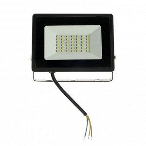 Прожектор светодиодный IN HOME СДО-8, 30 Вт, 230 В, 2850 Лм, 6500 К, IP65, холодный белый