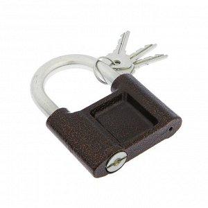 """Замок навесной """"СТАНДАРТ"""" ВС-1.03С, дужка d=12 мм , 3 ключа"""